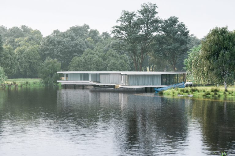 architectural visualization the lake house (4)